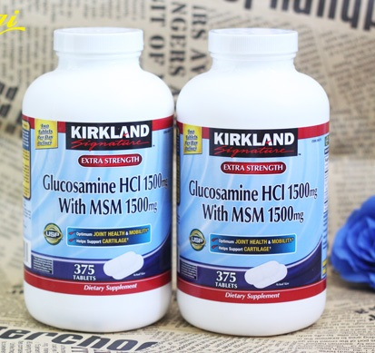 Thuốc Glucosamine HCL 1500mg của Mỹ - thuoc glucosamin cua my