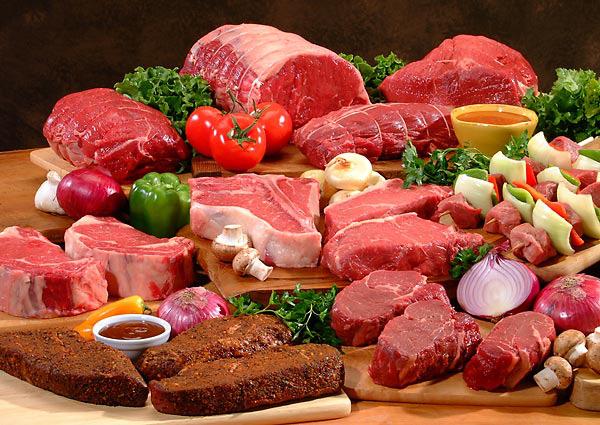 Bệnh nhân bị bệnh gút kiêng ăn các loại thịt đỏ