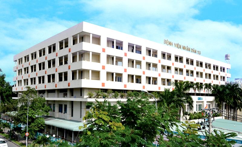 Bệnh viện Nhân Dân 115 - Bệnh viện chữa xương khớp tốt nhất ở TPHCM